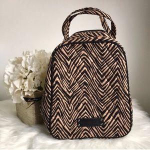 Vera Bradley tiger print lunch bag